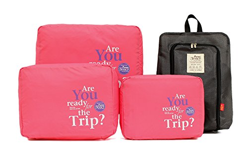 packing-cubes-for-women-with-shoe-bag-best-travel-luggage-accessory-brink-pink