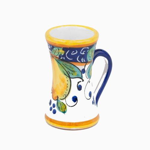 Handmade Alcantara Limoncello Cup From Italy