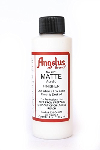 (Angelus Brand Acrylic Leather Paint Mate Finisher No. 620 - 4oz Model: Car/Vehicle)