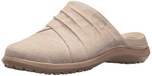 Crocs Women Capri Mule W Clogs Beige (Khaki/Tumbleweed 2h6)