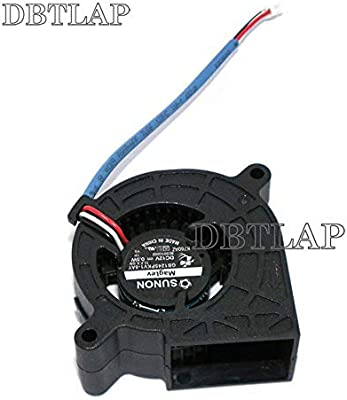 25mm 12V 0.5W FCQLR enfriamiento Ventilador Compatibles para SUNON GB1245PKV1-8AY 11.F.X.GN Sleeve Bearing Blower Ventilador 45 45