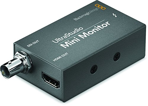 (Blackmagic Design UltraStudio Mini Monitor Playback Device BDLKULSDZMINMON)