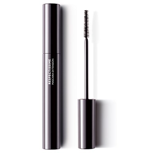 La Roche-Posay Respectissime Lengthening Mascara and Extension Curl for Sensitive Eyes, 0.28 Fl. Oz.