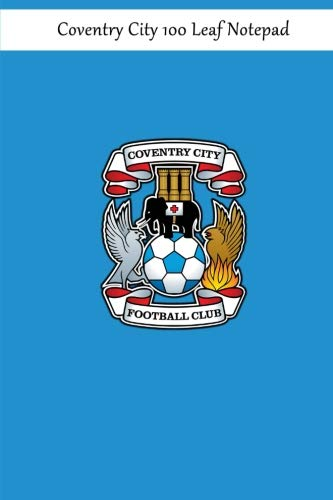 Coventry City 100 Leaf Notepad -