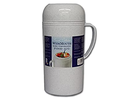 Amazon com: Vacuum Insulated Food Jug Flask Jar Wide Mouth