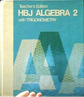 HBJ ALGEBRA 2 WITH TRIGONOMETRY DOWNLOAD