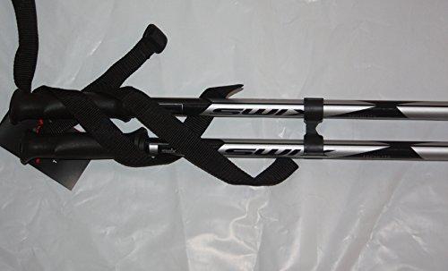 2015 Brand new Swix black/silver Techlite alpine ski poles Swix NEW