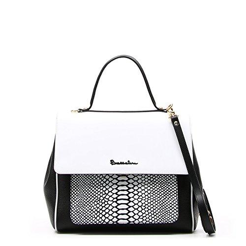 Borsa a mano Braccialini modello Chiara B11410 colore 001-Bianco