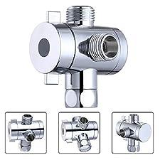Adjustable Shower Arm With Diverter