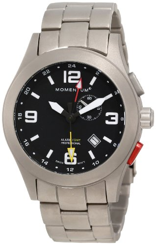 Momentum Men's 1M-SP58B0 Vortech GMT Analog GMT Function Watch