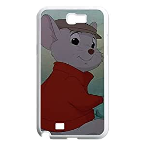 Samsung Galaxy N2 7100 Cell Phone Case White The Rescuers Character Bernard as a gift R544219