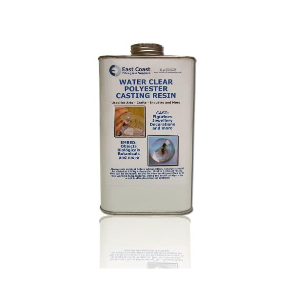 Craft  Jewelley Embedding etc  BASIC KIT Resin 500g  Water Clear casting  Cast