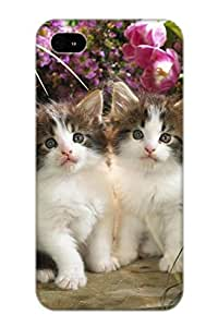 Charlesvenegas Rauepb-2044-mzxjshq Case Cover Iphone 4/4s Protective Case Animal Cute Cat Kitten( Best Gift For Friends)