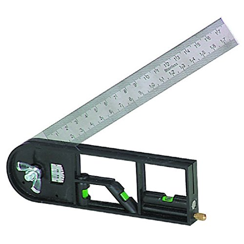 Multi TRI Square Measurement tool length angles levels & more World Shipping