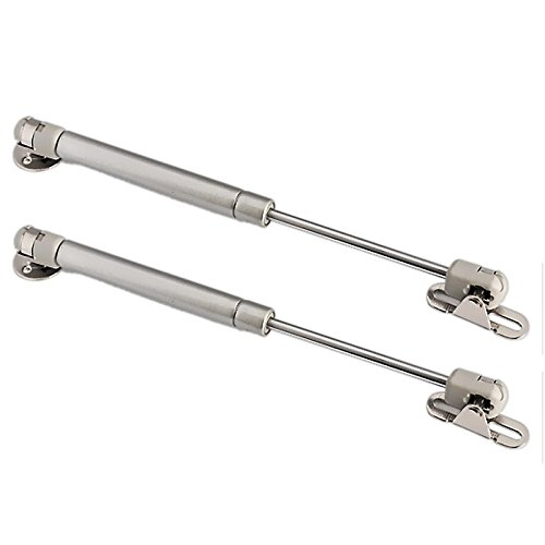 2 x Gas Strut Stay Lift Cabinet Cupboard Door Soft close Hinge 100 Nm with screws OMIdeas