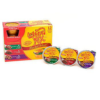 Meow Mix Market Select Variety Pack, 2.75-Ounce Cups Pack Of 48