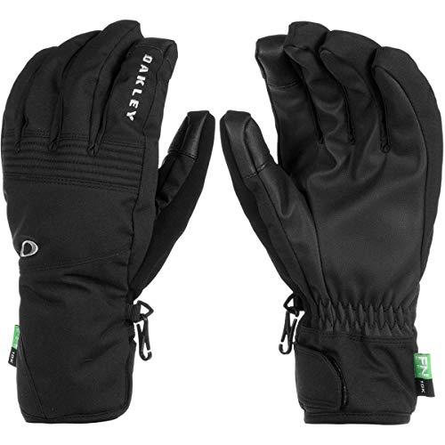 - Oakley Roundhouse 2.5 Men's Snowboarding Short Gloves - Blackout/Large