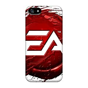 Iphone 5/5s Hard Back With Bumper Silicone Gel Tpu Case Cover Ea Games