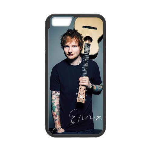 Price comparison product image New Arrival High Quality Protective Hard Rubber Gel Phone Case Cover Skin for iPhone 6 & iPhone 6S - Ed Sheeran (Design i6S572)