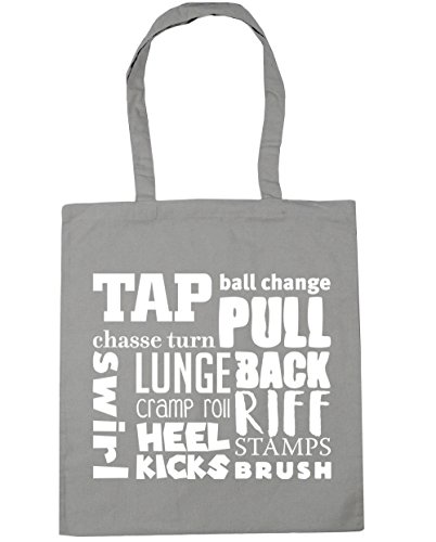 Shopping HippoWarehouse Tap Bag Tote litres 10 Grey Gym meaning 42cm x38cm Beach Light YEtqwqrxd