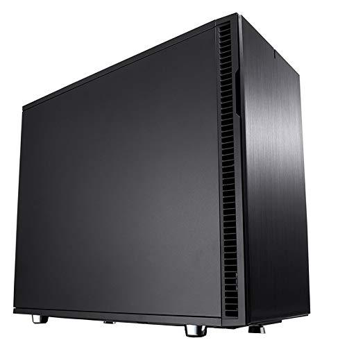Fractal Design FD-CA-DEF-R6C-BKO Computer Case Define R6 USB-C Blackout No Power Supply ATX Mid Tower (Black) by Fractal Design (Image #1)