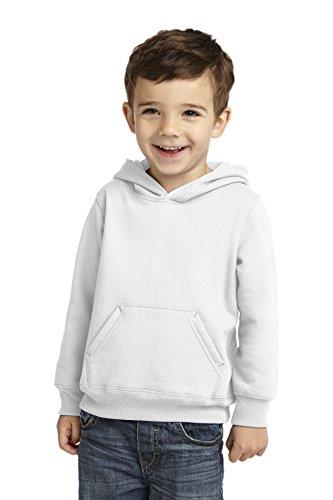 (Precious Cargo Unisex-Baby Pullover Hooded Sweatshirt 4T White)