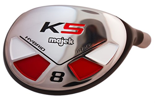 Petite Womens Majek Golf All Ladies Hybrid Complete Full Lightweight Graphite Set which Includes: #3, 4, 5, 6, 7, 8, 9, PW. Lady Flex Right Handed New Rescue Utility ''L'' Flex Club Perfect for Petite Short Shorter Women 4'10 to 5'3'' Tall by Majek (Image #3)