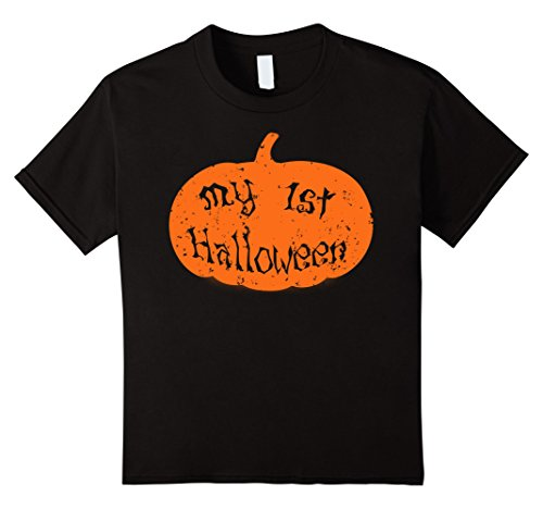 Kids My First Halloween, Funny Easy Halloween Costumes for Kids 8 Black