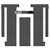 Toyota Sienna Custom-Fit All-Weather Rubber Floor Mats 2nd & 3rd Seat - 7 Passenger|Sliding Front Console - 3pc Kit - Gray (2011 11 2012 12 ) AMS4A5O435167||802GPP1O