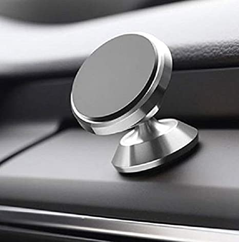 DLR CarPro Premium Magnetic Phone Holder for iPhone x//8//7//6//5 /& Galaxy S9 /& Tablets /& More Smart Phones /& Cell Phones Black 360 Degree Universal Car Mount Phone Holder