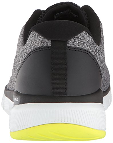 0 Skechers de Grey Homme Chaussures 3 Gybk Gris Flex Fitness Stally Advantage Black CxCnqtBwF