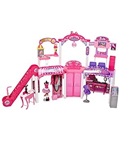 barbie shopping games shopping mall playset toys amp 10081