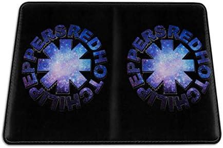 レッド・ホット・チリ・ペッパーズ パスポートケース メンズ 男女兼用 パスポートカバー パスポート用カバー パスポートバッグ 小型 携帯便利 シンプル ポーチ 5.5インチ高級PUレザー 家族 国内海外旅行用品