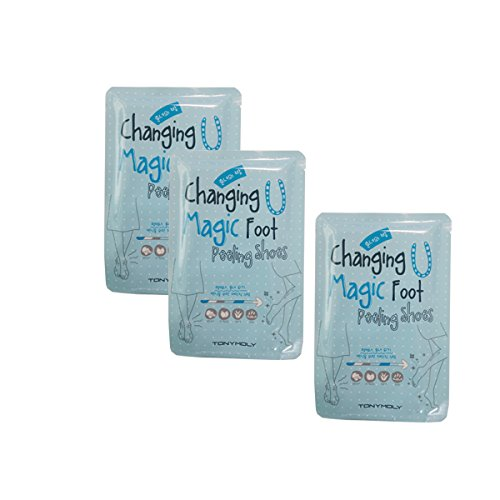 [TONYMOLY] Changer U pied magique Peeling chaussures 3EA