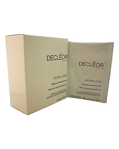Decleor 5 Piece Aroma Lisse Mask Radiance & Wrinkle Correction Mask, 1.4 Ounce ()
