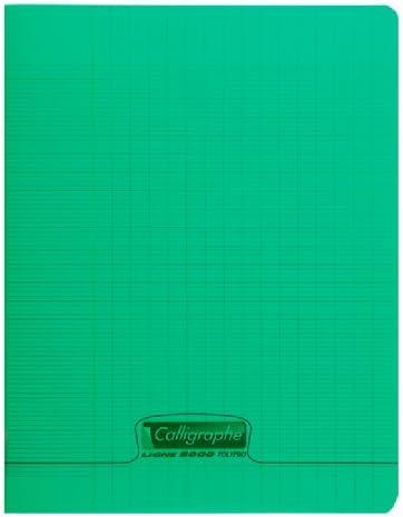 colore blu Clairefontaine 18002/C 17/x 22/cm a righe Staple Bound Notebook con 16/fogli
