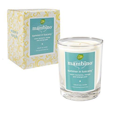 Mambino Organics Summer In Tuscany Natural Soy Candle
