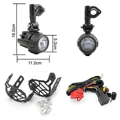 Led Auxiliary Lights R1200Gs in US - 9