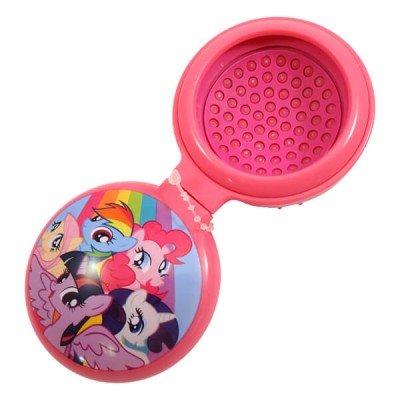 unicorn hair brushes. my little pony pink rainbow unicorn pop out hair brush for girls brushes h