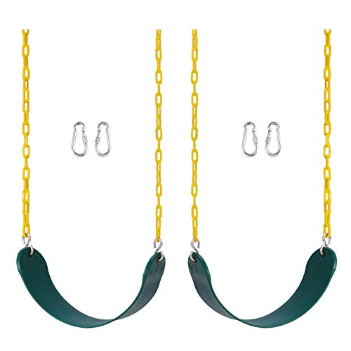 Heavy Duty Swing Seat Pack of 2- Includes 2 Carabiners