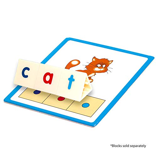 Junior Learning CVC Word Builders Activity Cards