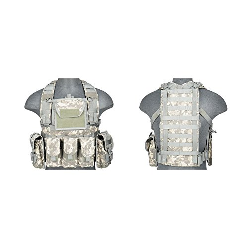 Lancer Tactical CA-781GX Modular Chest Rig Tactical Gear - ACU