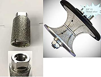 50 mm 2 Inch Full-Bullnose Diamond Router Bit Granite Marble Ceramic concrete