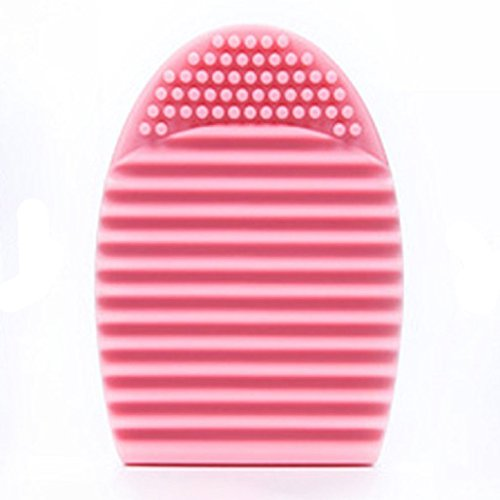 Laimeng, Cleaning Glove MakeUp Washing Brush Scrubber Board Cosmetic Clean