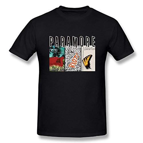 Matta Paramore All We Know is Falling Misery Business Brand New Eyes Men's Tees Black M by Matt Alexanderyth