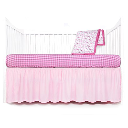 Tadpoles Crib Set (Tadpoles Geometric Crib Set, Pink)