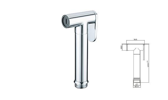 Design Wc Bidet Handbrause Komplettset Mit Absperrventil Rund Stilform