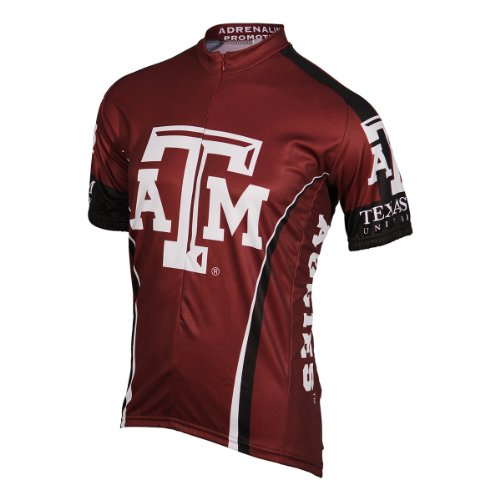 Adrenaline Promotions NCAA Texas A&M Cycling Jersey,XX-Large by Adrenaline Promotions
