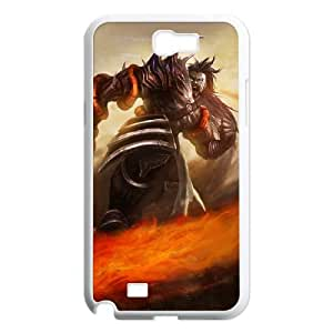 Samsung Galaxy N2 7100 Cell Phone Case White League of Legends Demonblade Tryndamere UVW0568243