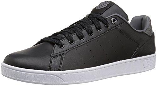 K-Swiss Men's Clean Court Sneaker Black/Charcoal cheap online shop sale latest new arrival cheap online for sale cheap online xY5KB